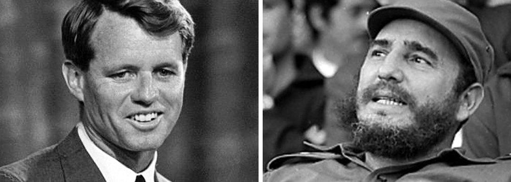 O mesmo relatório divulgado por Donald Trump revelou que Robert Kennedy, irmão do ex presidente dos EUA e que serviu como procurador-geral dos EUA, estava ciente de um enredo envolvendo a contratação de um homem armado que dispararia contra Fidel Castro