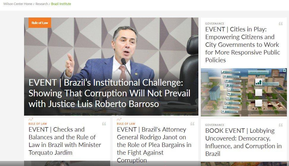 o ministro Luis Roberto Barroso se revela como um dos mais sórdidos traidores da pátria que já passaram pelo STF.A participação de Barroso neste evento revela que elite jurídica nacional é quase que totalmente corrompida pelo governo americano