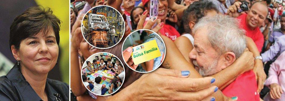 """No terceiro artigo da série Em Defesa de Lula, divulgada pelo PT, a ex-ministra de Desenvolvimento Social e Combate à Fome Tereza Campello defende na história de um """"líder visionário"""" chamado Lula; """"Lula sempre esteve à frente de seu tempo. É um estadista. Um líder visionário que usou sua trajetória de retirante nordestino e de operário para compreender as dores e necessidades dos milhões de brasileiros excluídos, que só precisavam de oportunidade"""", diz a ex-ministra; """"Uma pessoa como Lula, em qualquer outro país teria sido reconhecido como foi Mandela, pelas transformações realizadas com sua visão generosa de país, onde cabem todos, e onde a busca pela igualdade é princípio superior. Mas não, ele está sendo condenado exatamente por isto"""""""