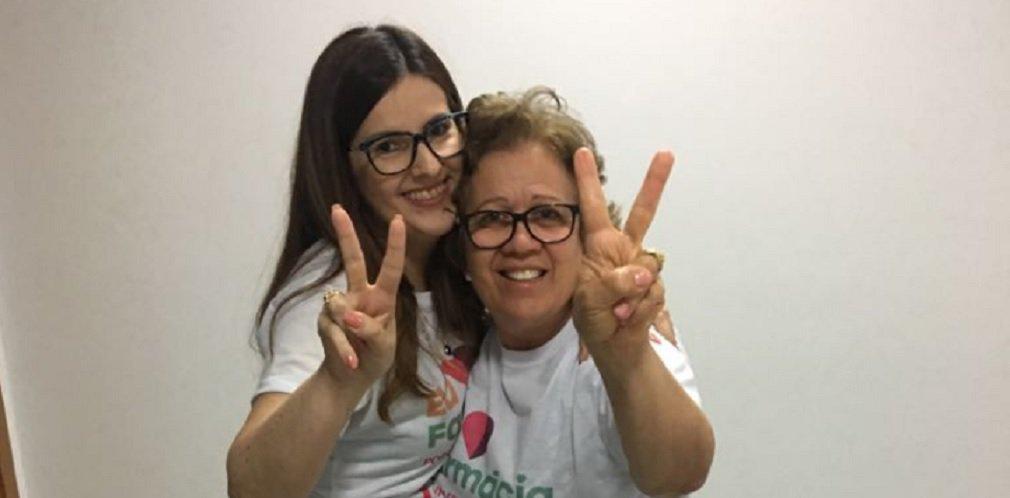 Chapa 2 - Eu Amo Farmácia, encabeçada pela farmacêutica e atual vice-presidente Lorena Baia, foi eleita nesta sexta-feira (10) para a Diretoria do Conselho Regional de Farmácia de Goiás (CRF-GO) no quadriênio 2018-2021; o grupo obteve 48,4% dos votos, contra 41,5% da chapa adversária, Amor Pela Farmácia, encabeçada pela cerimonialista Nara Luíza de Oliveira;Chapa 2 também elegeu a atual presidente do CRF-GO, Ernestina Rocha, para a cadeira ao Conselho Federal de Farmácia (CFF), com 48,4% dos votos