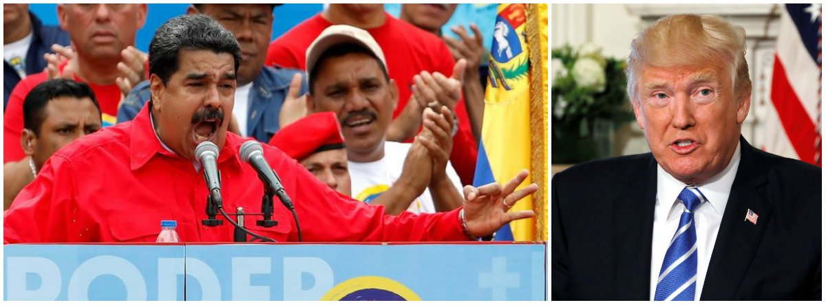 """""""A absurda ameaça de intervenção militar dos EUA na Venezuela é resultado direto do afastamento dos países do Mercosul"""", avalia Paulo Moreira Leite, articulista do 247; """"Com receio de que a resistência do povo venezuelano possa estimular suas próprias populações, governos sul-americanos não hesitaram em nova tentativa de enfraquecer o governo Maduro, no momento em que o país ensaia uma saída democrática para um quadro de pré-guerra civil com a convocação de uma Assembléia Constituinte""""; para PML, """"constatando que o caminho para uma eventual intervenção encontra-se livre, Trump agradeceu com o discurso da """"opção militar"""""""