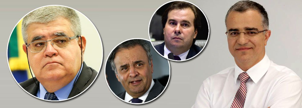 Segundo o jornalista, foi Rodrigo Maia quem brecou a nomeação de Carlos Marun para o cargo de ministro da Secretaria de Governo do Planalto, e também Aécio Neves – no exercício de fato da presidência do PSDB - participou da decisão