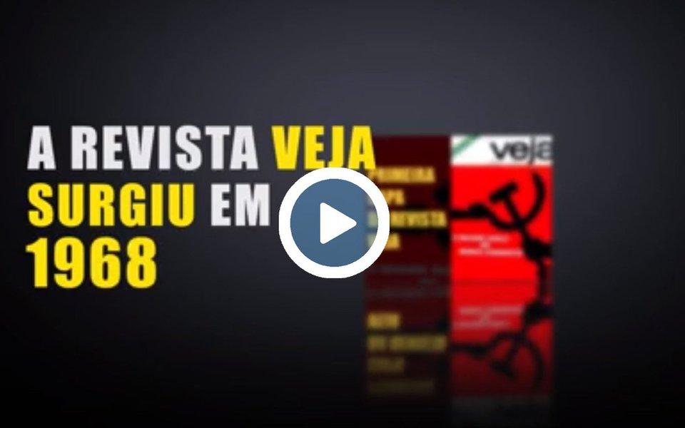 """Um vídeo divulgado pelo mandato da deputada Benedita da Silva (PT-RJ) mostra a história da perseguição da revista Veja contra o ex-presidente Lula; em março de 1979 surge a primeira capa contra o então líder sindical, que atuava no ABC Paulista; vídeo mostra que de 1979 até 2017, a revista já colocou Lula na capa mais de 70 vezes e em 60 dessas foram capas negativas; """"É o medo de o cara voltar"""", encerra o vídeo"""