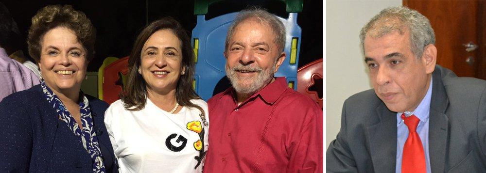 """O presidente do PT-TO, o deputado estadual José Roberto Forzani, afirmou que vê com tranquilidade a movimentação da senadora Kátia Abreu (PMDB), que teria recebido apoio do ex-presidente Lula para disputar o governo do Tocantins em 2018. A parlamentar teve um encontro com o petista, Dilma Rousseff e a presidente do PT nacional, Gleisi Hoffman (PR), no último final de semana, em Salvador (BA); """"Mas eu acho que isso é mais especulação. Acho que é natural que nesse momento haja muita conversa, mas o Diretório Estadual vai dirigir como é que nós vamos estar fazendo aqui e nós vamos estar fazendo uma conversa com a senadora Katia Abreu tão logo seja possível"""""""