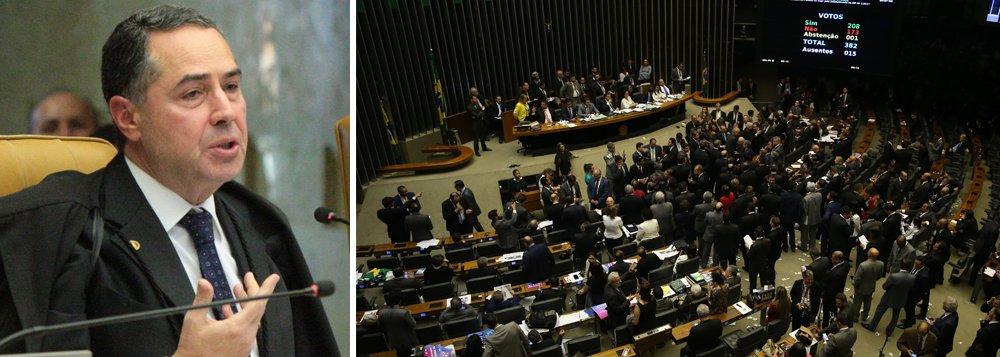 """O ministro do Supremo Tribunal Federal (STF), Luis Roberto Barroso afirmou que a """"operação abafa"""" contra a corrupção é visível; para Barroso, existe uma legião de pessoas que gostaria que o Brasil continue a ser """"o País feio e desonesto que criamos"""", disse o ministro após participar de um evento sobre Direito Empresarial"""