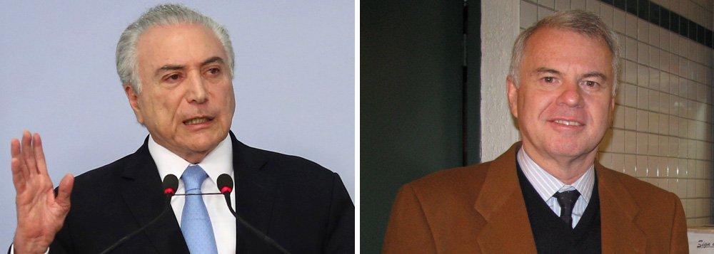 Michel Temer nomeou nesta sexta-feira 18 Américo Dyott Fontenelle como cônsul-geral do Brasil em Ciudad del Este, no Paraguai; Fontenelle foi suspenso das atividades de embaixador em 2014 por suspeita de assédio moral, sexual, homofobia e desrespeito no exercício da função de cônsul-geral do Brasil em Sydney (Austrália); em 2007, também foi investigado por assédio moral quando atuava no Canadá; processo, no entanto, foi arquivado e o Itamaraty não puniu o funcionário