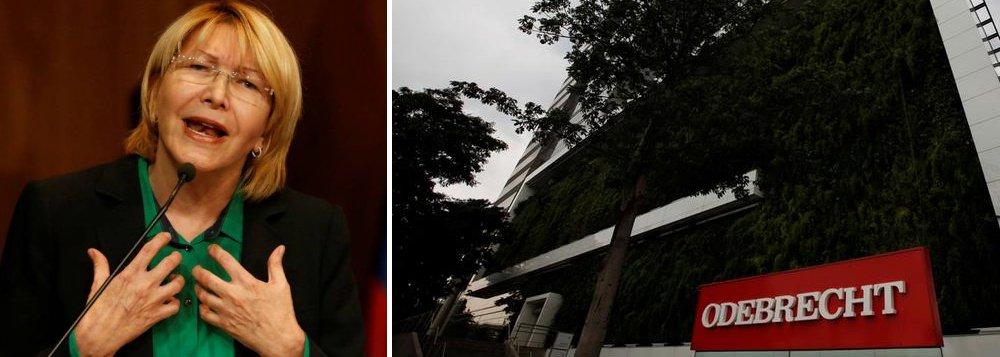 Ex-procuradora-geral venezuelana Luisa Ortega afirmou nesta quarta-feira que vai encaminhar a autoridades do Brasil, dos Estados Unidos, do México, da Espanha e da Colômbia documentos referentes a investigações da Odebrecht conduzidas por ela na Venezuela antes de ser destituída do cargo; ela também acusou o ex-vice-presidente venezuelano Disdalo Cabello, aliado do atual presidente daquele país Nicolás Maduro, de ter recebido US$ 100 milhões da Odebrecht por meio de uma empresa espanhola