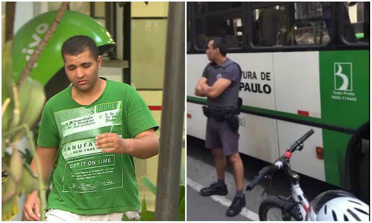 Diego Ferreira de Novais, de 27 anos, voltou a ejacular em uma mulher em um ônibus de São Paulo na manhã deste sábado, segundo informações da PM; ele foi detido inicialmente pelos passageiros do ônibus, que chamaram os policiais militares; na última quarta, ele chegou a ser preso em flagrante pelo mesmo ato, mas foi solto após audiência de custódia
