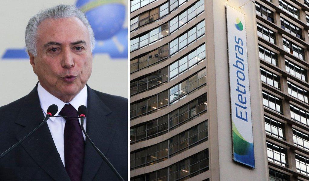 A nova palavra de ordem do ilegítimo governo Michel Temer (PMDB) é 'privatizar para sustentar a corrupção' da quadrilha que tomou de assalto o Palácio do Planalto