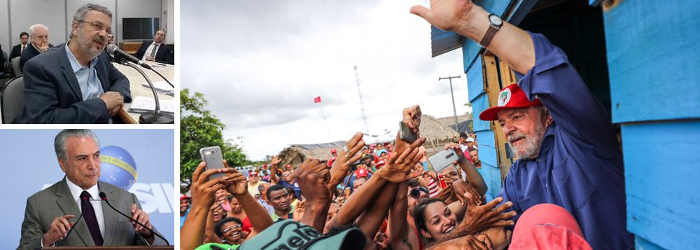"""""""O que espanta no depoimento de Antônio Palocci ao juiz Moro não foi a traição que ele perpetrou contra Lula, mas o despudorado cinismo da traição - a total desfaçatez com que foi feita"""", diz o cientista político Aldo Fornazieri; """"O único objetivo do depoimento foi torpe: conseguir um benefício pessoal, buscando que lhe seja concedido o privilégio da delação premiada. Este tipo de pessoa está apta a alcançar a liberdade para continuar persistindo no crime, assim como Temer se habilitou pela traição a chegar à presidência da República para continuar na senda criminosa"""", afirma"""