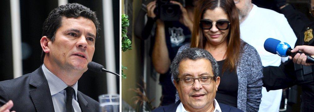 """Valor havia sido liberado pelo juiz Sergio Moro ao casal na semana passada; o magistrado mudou então sua própria determinação alegando que """"por lapso e diante do grande número de processos"""", autorizou """"a liberação do numerário sem antes ter apreciado"""" um pleito da Procuradoria da Fazenda sobre a indisponibilidade"""