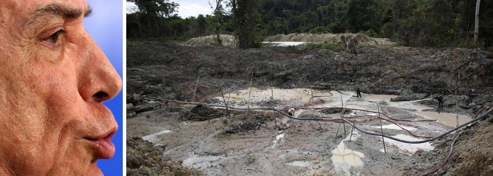 """Imagem do Brasil, que já está arranhada pelos escândalos políticos do governo Michel Temer, deve sofrer novo vexame na próxima Conferência do Clima da ONU (COP23), que ocorre em novembro na Alemanha; aumento do desmatamento na Amazônia, a possível redução do nível de proteção de áreas florestais e o foco excessivo da política energética nos combustíveis fósseis farão o país chegar com uma imagem ruim à conferência; além disso,""""Michel Temer ter criado um ambiente onde as questões socioambientais são moeda de troca para conseguir votos no Congresso é constrangedor por si só""""; destaca osecretário-executivo do Observatório do Clima, Carlos Rittl"""