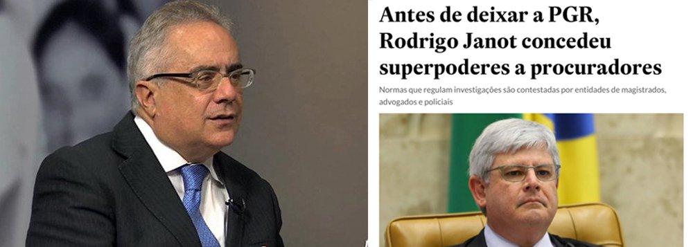 """O jornalista Luís Nassif analisa a postura da mídia em relação ao ex Procurador-Geral da República, Rodrigo Janot; de acordo com Nassif, """"enquanto foi fonte e o alvo era o PT, todos os pecados de Janot eram perdoados""""; ele analisa uma matéria do Estadão deste domingo (29), na qual Janot é acusado de ter concedido superpoderes aos procuradores; para Nassif, a matéria """"é injusta e de má fé"""", dada a familiaridade dos repórteres com temas do Ministério Público; """"Ao se tornar alvo dos próprios aliados na imprensa, e personificar uma decisão que foi colegiada, Janot comprova que a mídia sempre é namorada de ocasião, quando a fonte a alimenta com seu pão"""""""