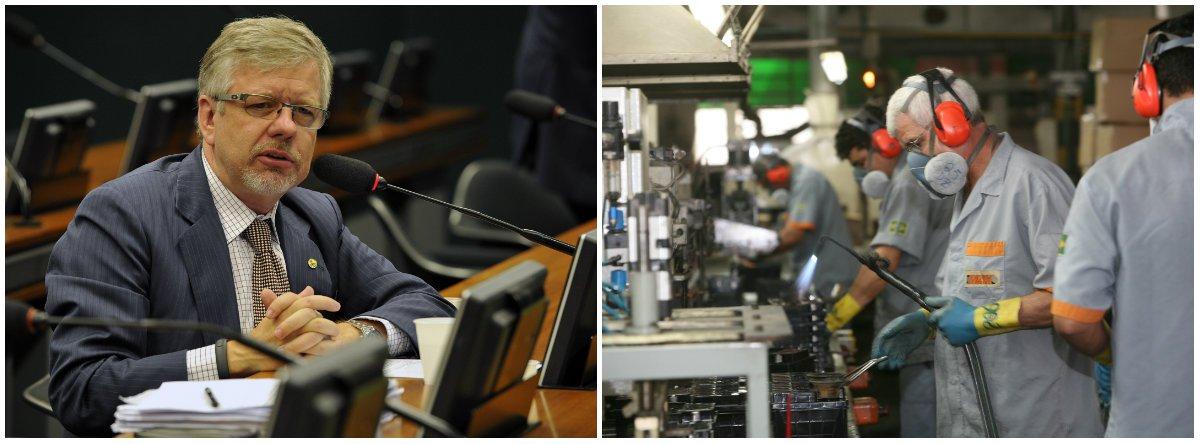 """O deputado federal Marco Maia (PT-RS) apresentou nesta quarta-feira 23 na Câmara um projeto de lei que altera a CLT para revogar o contrato de trabalho intermitente; """"A 'reforma trabalhista' recentemente aprovada traz consequências nefastas para a classe trabalhadora"""" e que este contrato,também chamado de jornada móvel variável, é """"um inequívoco desrespeito aos direitos mínimos do trabalhador"""", uma vez que ele """"se vê submetido à exclusiva vontade do empregador"""""""
