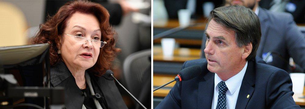 """Ministra Nancy Andrighi, do STJ, que proferiu o voto que manteve a condenação do deputado Jair Bolsonaro (PSC-RJ) por ofensas à deputada Maria Rosário (PT-RS) relatou a colegas que depois que votou para manter a condenação de Bolsonaro, passou a receber uma série de ligações e e-mails com xingamentos; em seu voto, Nancy Andrighi disse que""""é óbvio"""" que, para o desempenho de suas funções, os parlamentares não precisam se manifestar sobre qual mulher """"mereceria"""" ou não ser estuprada, nem emitir qualquer juízo de valor sobre atributos femininos, sejam eles positivos ou negativos"""