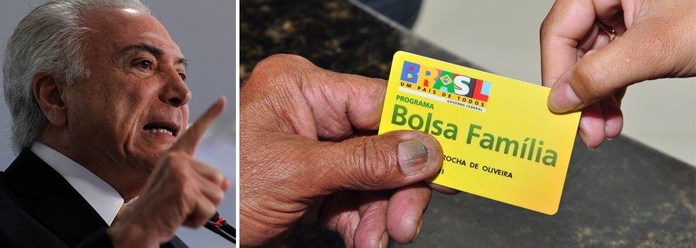 """Presidente Michel Temer afirmou que o programa Bolsa Família continuará enquanto for necessário mantê-lo, mas o governo espera que no futuro seja possível extingui-lo;""""O sonho é que daqui a alguns anos não precisemos mais ter um programa como o Bolsa Família. Vamos tê-lo e mantê-lo enquanto necessário for"""", disse; """"Mas temos que ter em mente o desejo de todos, o brasileiro é um povo empreendedor, ele está no Bolsa Família mas quer crescer"""", completou;. segundo dados do próprio governo, mais 13,9 milhões de famílias são beneficiárias do programa"""