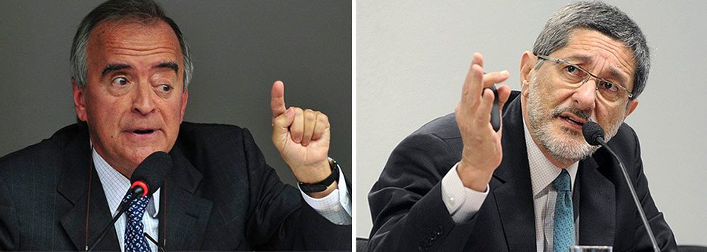 O Tribunal de Contas da União julgou nesta quarta-feria 30 irregulares as contas do ex-presidente da Petrobras José Sérgio Gabrielli e do ex-diretor da Área Internacional da empresa Nestor Cerveró, por irregularidades na compra da Refinaria de Pasadena, no Texas (EUA); eles terão que pagar US$ 79,89 milhões em conjunto, mais R$ 10 milhões cada em multas e ficarão inabilitados para exercer cargo público por oito anos; o mesmo tribunal inocentou Dilma Rousseff no caso