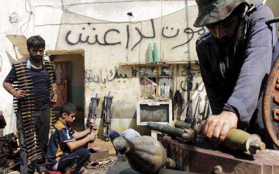 Forças iraquianas anunciaram que entraram na cidade de Al Hauiya, capital da comarca homônima, que era o último reduto do grupo jihadista Estado Islâmico (EI) no norte do país; ofensiva, que começou no dia 21 de setembro, continua na comarca, localizada na província de Kirkuk, segundo um comunicado do subcomandante das Operações Conjuntas, Abdelamir Rashid Yarala