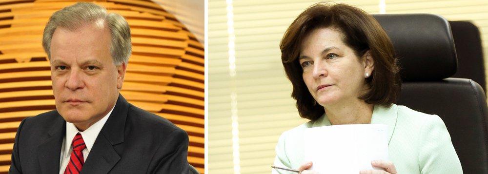 """""""Sra. Raquel Dodge, não fica bem para a futura PGR manter encontros informais na intimidade noturna com um investigado em potencial, Temer!"""", lembrou o jornalista da Globo"""