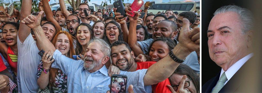 """""""O governo golpista, apesar de ilegítimo, colocou em pratica, de forma avassaladora, um pacote de medidas antipopulares, antidemocráticas e antinacionais. Trata de desmontar tudo o que de melhor foi feito pelos governos do PT, que transformaram positivamente o Brasil neste século. Ataca o patrimônio público, ataca os direitos dos trabalhadores, ataca os programas sociais"""", diz o colunista Emir Sader, que defende o referendo revogatório; """"Um tema reiterado nos discursos e entrevistas do Lula tem sido o o do referendo revogatório. Ele tem dito que seria impossível governar o Brasil e efetivamente resgatar a democracia, sem rever as iniciativas aprovadas pelo governo golpista"""""""