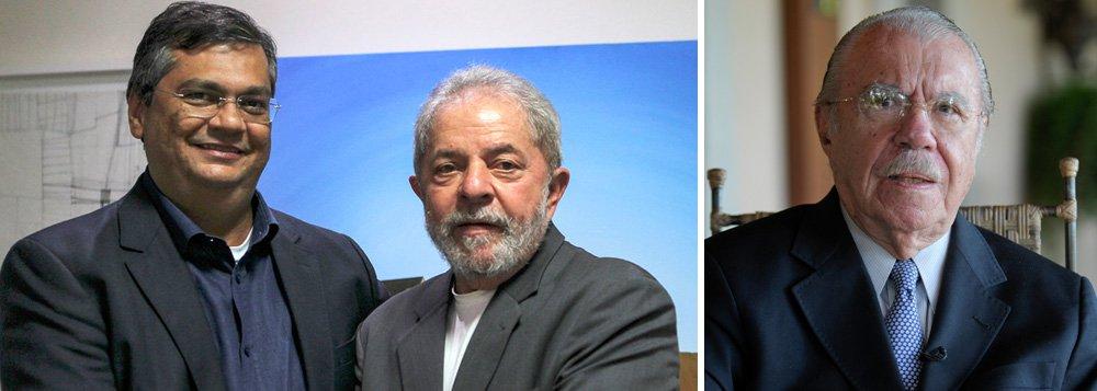 Disposto a demonstrar força após sua condenação em primeira instância e às vésperas de um novo depoimento ao juiz Sergio Moro, o ex-presidente Lula desembarca em Salvadorpara largada de uma caravana pelo Nordeste que se encerrará em 5 de setembro, no Maranhão; segundo a folha, no estado, a dificuldade está na acomodação do governador Flávio Dino (PC do B) e da família Sarney em uma mesma atividade; da última vez que esteve em solo maranhense, em 2010, Lula esteve ao lado da então governadora Roseana Sarney e do seu pai, José Sarney; Dino, no entanto, além de estar bem em popularidade no Maranhão, foi um dos principais críticos do golpe contra Dilma Rousseff, defensor de eleição direta e contrário à condenação de Lula, sem provas, por Moro