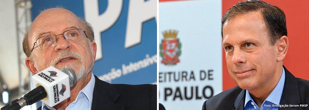 """Para o ex-governador de São Paulo e vice-presidente nacional do PSDB, Alberto Goldman, o prefeito da capital paulista, João Doria (PSDB), sempre foi """"um """"sujeito muito ambicioso"""" e um """"cidadão sem escrúpulos""""; Sempre vi o Doria como um sujeito muito ambicioso, vaidoso, um cidadão sem escrúpulos"""", disparou; """"Pro Doria não importa se é amigo, não é amigo. Importa o interesse dele"""", completou; declaração é o mais novo capítulo da troca de farpas entre os tucanos e evidencia o isolamento de Doria, que tenta pavimentar sua pré-candidatura à Presidência da República, dentro do partido"""