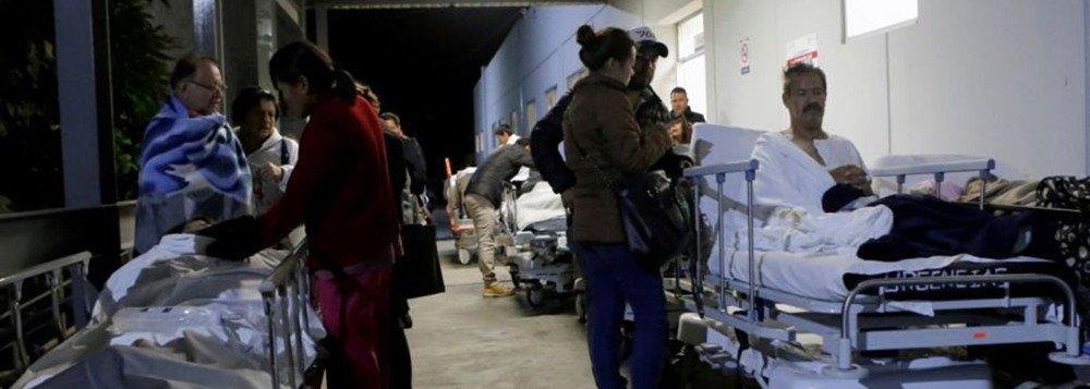 O terremoto de 8,2 graus na escala Richter ocorrido nesta quinta-feira (07) já deixou ao menos 35 mortos no México;De acordo com a Secretaria de Comunicações e Transporte, diversos sistemas de transporte do país, bem como todo tipo de infraestruturas públicas e as escolas de 11 estados permanecem fechadas
