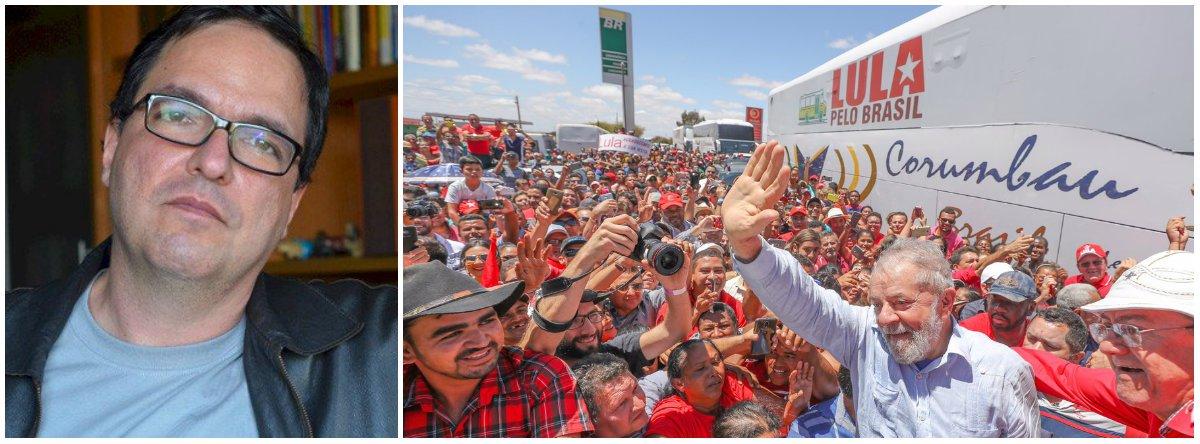 """O primeiro seria """"com eleição e com Lula""""; o segundo, segundo o cientista político,""""com eleição e sem Lula"""", no qual """"amplia-se o risco da eleição de um candidato de direita""""; e o terceiro, """"sem eleição - com o aprofundamento do golpe por meio do parlamentarismo ou outra manobra""""; confira análise publicada em seu Facebook"""