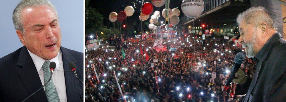 Pesquisa BrVox em Teresina divulgada pelo180grausaponta92,2% do eleitorado da capital afirmam que não aprovam o governo de Michel Temer, que tem aprovação de apenas 3,8%; se o ex-presidente Lula for candidato ao Palácio do Planalto em 2018, 61,2% disseram que votariam no petista; 35,8% disseram que não votariam; na disputa pelo governo estadual, 42,8% afirmaram que pretendem votar no governador Wellington Dias (PT), que deve disputar a reeleição; em seguida vem o prefeito de Teresina, Firmino Filho (PSDB), com 13,2%