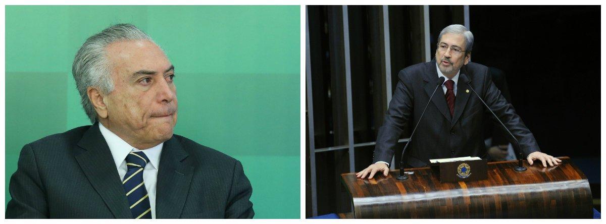 Michel Temer e Antonio Imbassahy