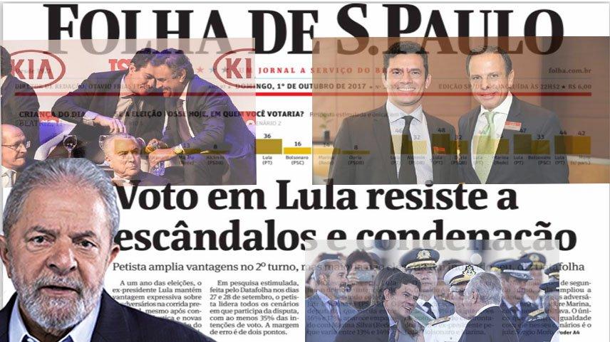 Não há nenhuma novidade no fato revelado por essa pesquisa, de que Lula é o líder isolado em uma corrida presidencial que, devido ao país ter um presidente ilegítimo, acabou sendo antecipada
