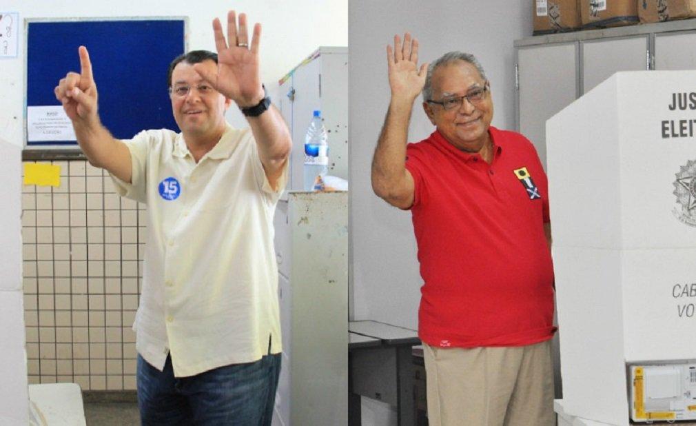 Com 91,62% das urnas apuradas, Amazonino Mendes, do PDT, está matematicamente eleito governador do Amazonas; neste domingo (27), os eleitores do estado voltaram às urnas para o segundo turno da eleição suplementar para o cargo; Amazonino obteve a preferência dos eleitores, com 59,52% dos votos; seu adversário, Eduardo Braga, do PMDB, recebeu 40,48% dos votos