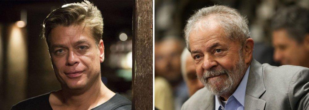Segundo informa a colunista Mônica Bergamo, o ator Fábio Assunção convidou alguns artistas para jantarem nesta sexta-feira 11 com o ex-presidente Lula no Rio de Janeiro; Assunção teria dito que está convidando cerca de 30 pessoas para o encontro, que está sendo tratado com discrição