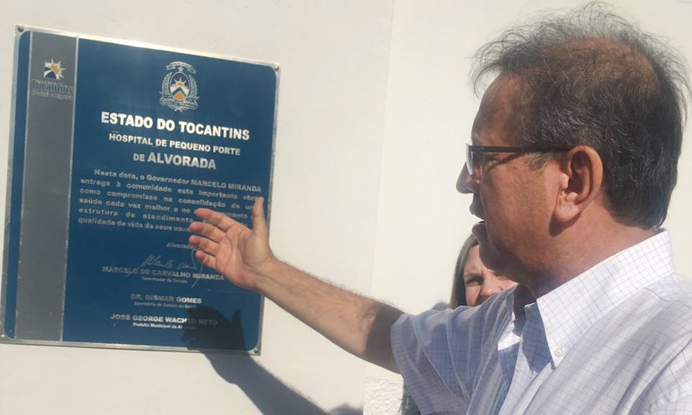 O governador do Tocantins, Marcelo Miranda, está em Alvorada, no sul do Estado, para a entregar a adequação e a ampliação do Centro Cirúrgico do Hospital de Referência de Alvorada, que está sendo reativado para atender os usuários do SUS; na sequência, o chefe do executivo estadual inaugura, na rodovia TO-373, um total de 112,61 km de pavimentação, ligando Alvorada a São Miguel, já na divisa com o estado de Goiás