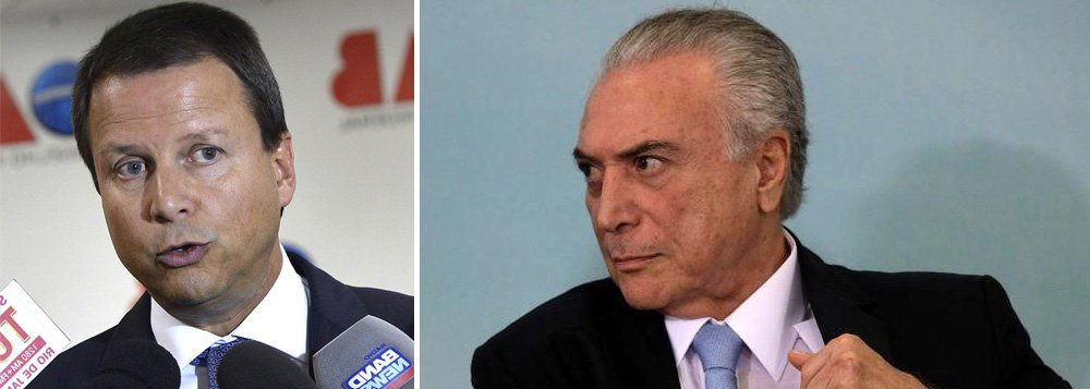 """Presidente nacional da OAB é """"gravíssima; por meio de nota, Lamachia destacou que o Brasil nunca viveu uma """"crise de tais proporções""""; """"(A PGR) Acusa-o de formar a liderar uma quadrilha integrada pela cúpula de seu partido, o PMDB, de que fazem parte alguns ministros de Estado. Teriam lesado os cofres de diversos órgãos estatais. Jamais a República brasileira testemunhou crise de tais proporções"""", ressaltou"""