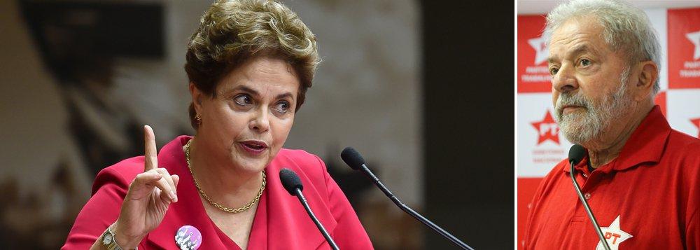 Depois do sucesso das recentes palestras de Dilma Rousseff no exterior —em que foi recebida com tratamento de chefe de Estado pela população e muitos acadêmicos e lotou auditórios na Europa e nos Estados Unidos—, a petista se prepara para mais uma jornada no exterior; desta vez, Dilma irá denunciar a segunda fase do golpe: a caçada ao ex-presidente Luiz Inácio Lula da Silva para impedir que ele seja candidato em 2018; líder absoluto em todos os cenários para as próximas eleições presidenciais, Lula vem sendo alvo de uma campanha para impedir sua candidatura, tocada em grande medida pelo mesmo grupo que articulou a derrubada de Dilma