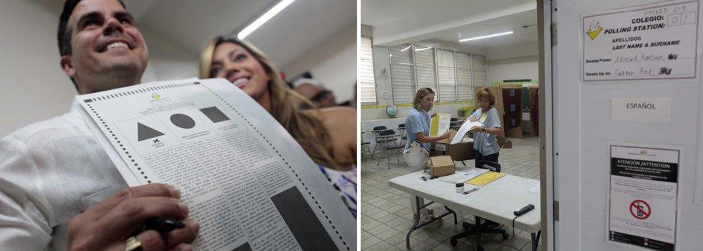 O eleitores de Porto Rico que foram às urnas no domingo decidiram, esmagadoramente, pela opção de o país se candidatar ao Congresso dos EUA e se tornar o seu 51º estado, disseram autoridades eleitorais; no entanto, menos de um quarto dos 2,2 milhões de eleitores aptos a votar participaram do plebiscito