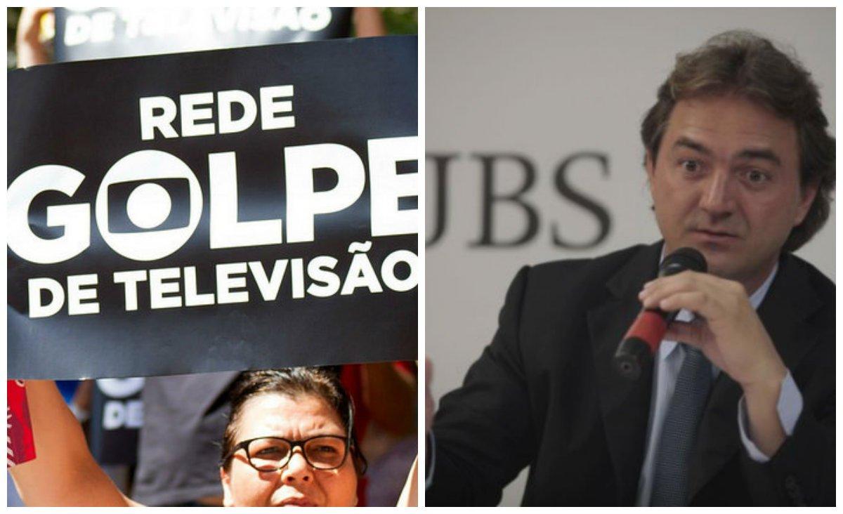 """""""A Globo capturou as manifestações de 2013 e as colocou em sua grade de programação – com agendas e transmissões ao vivo – para fazer daquelas 'jornadas' o primeiro movimento manipulado de massas com vistas a tirar o PT do poder. Deu no que deu: em três anos, ajudou a colocar essa quadrilha chefiada por Michel Temer no Palácio do Planalto"""", diz o jornalista Leandro Fortes; """"Agora, anuncia um desembarque triunfante, entregando Temer aos leões, mas com o cuidado recorrente de se tornar dona do processo para que, como de costume, as coisas possam mudar de tal forma que permaneçam da mesma forma que estão""""; segundo ele, a Globo trabalhar pelas Indiretas Já e """"decidiu capturar, também, o #ForaTemer, depois de ter sido a protagonista do golpe que colocou essa gente no poder"""""""