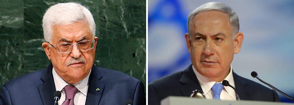 O presidente da Autoridade Nacional Palestina (ANP), Mahmoud Abbas, anunciou em um discurso na televisão que suspenderá todas as suas comunicações com Israel até que as autoridades israelenses retirem os detectores de metal instalados no entorno da Esplanada das Mesquitas de Jerusalém,local sagrado para muçulmanos e judeus