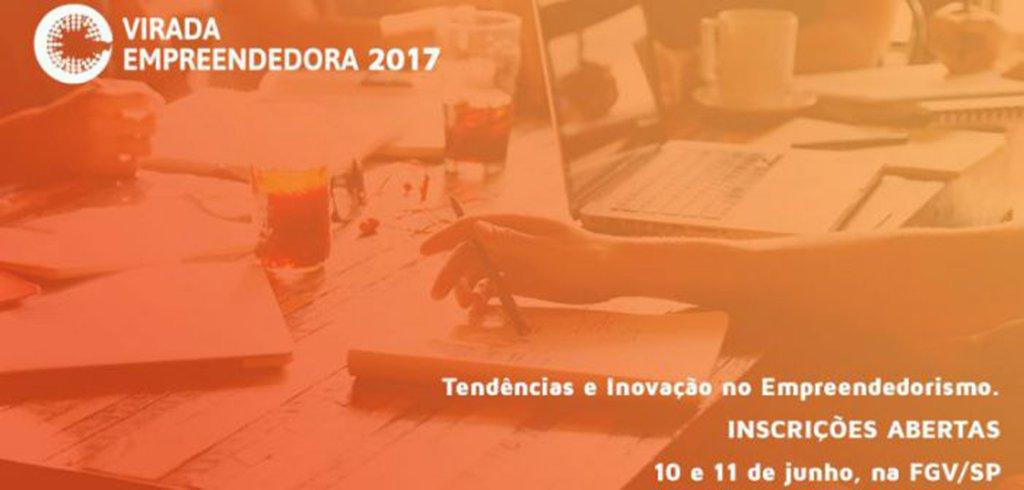 """Nos dias 10 e 11 de junho acontecerá, em São Paulo, a VII edição da Virada Empreendedora; o evento reúne conteúdo e atividades dos mais diversos segmentos do empreendedorismo; com o tema """"Tendências e Inovação no Empreendedorismo"""", serão 10 arenas de conteúdo e mais de 100 palestras, voltadas para homens e mulheres de todas as idades"""