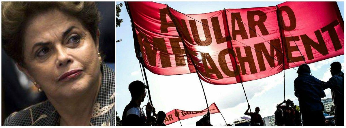 Agora que ficou mais do que provado que o impeachment foi uma conspiração de políticos corruptos para derrubar uma presidente honesta e frear a Lava Jato, o Supremo Tribunal Federal ainda tem a chance de se redimir, anulando o golpe de 2016; nesta quarta-feira 21, em Brasília, um grupo de manifestantes de vários partidos, sindicatos e associaçõesdefendeu essa saída honrosa para o País; antes de ser deposta, Dilma assumiu o compromisso de convocar eleições diretas – o desejo de 87% dos brasileiros