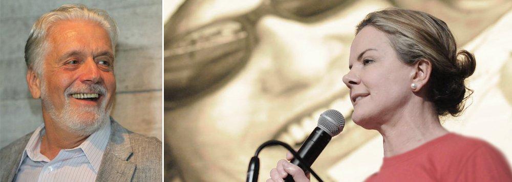 """O secretário do Desenvolvimento Econômico da Bahia, Jaques Wagner, parabenizou a senadora paranaense Gleisi Hoffmann pela vitória na disputa pela presidência do diretório nacional do Partido dos Trabalhadores; em sua página no Facebook, Wagner também destacou """"os desafios"""" que a primeira mulher presidente do PT tem pela frente; """"Ela tem a importante missão de construir a unidade partidária neste momento importante da história brasileira e ajudar o País a sair da crise institucional"""", disse o ex-ministro"""