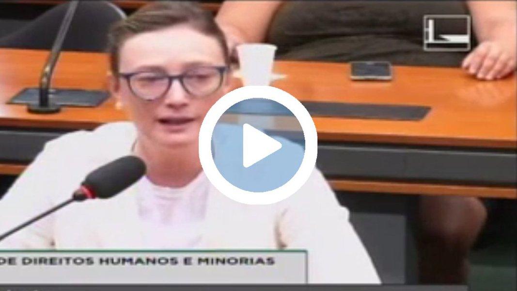 """A deputada federal Maria do Rosário (PT) defendeu o direito à livre manifestação popular sem repressão das forças de segurança do Estado; """"Vivemos uma situação de embrutecimento. Toda manifestação no Brasil tem uma contrapartida de violência inaceitável, independentemente da causa"""", destacou durante audiência na Comissão de Direitos Humanos (CDH) que debateu os recentes abusos de violência em manifestações"""