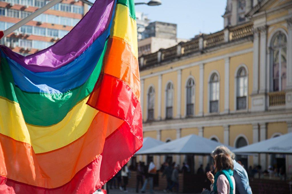 17/05/2017 - PORTO ALEGRE, RS - Dia de luta contra a homofobia. Foto: Maia Rubim/Sul21