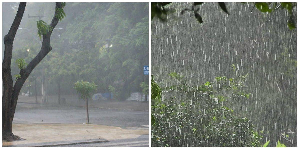 Voltou a chover forte em todo o Ceará, desde o o dia ontem. Segundo a Funceme, há nebulosidade sobre todo o estado do Ceará (CE) por causa do avanço de áreas de instabilidade que se deslocam do oceano para o continente. A previsão da Funceme aponta a possibilidade de ocorrências de chuvas também nos próximos dias, em todo o estado. A maior incidência de chuvas foi em São Gonçalo do Amarante, com 118.0 mm