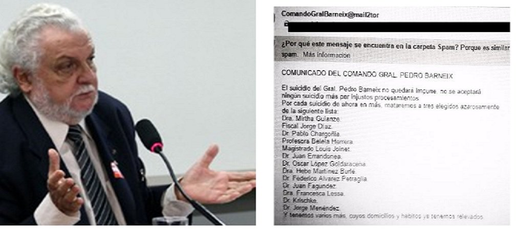 Ignorando as ameaças de um grupo da extrema direita uruguaia, o brasileiro Jair Krischke (na foto), presidente do Movimento de Justiça e Direitos Humanos (MJDH), desembarca em Montevidéu na próxima terça-feira, 20, sob a proteção de Medida Cautelar solicitada por ele à Comissão Interamericana de Direitos Humanos (CIDH); Krisckhe é uma das treze pessoas envolvidas na investigação de crimes da ditadura que imperou no país entre 1973 e 1985 e mencionadas numa lista de alvos a serem mortos por um certo 'Comando General Pedro Barneix