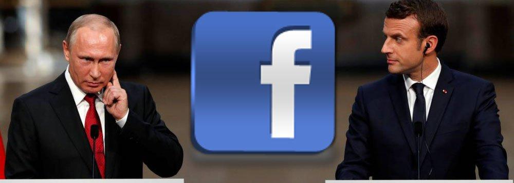 Agentes de inteligência da Rússia tentaram espionar a campanha eleitoral do presidente da França, Emmanuel Macron, no início deste ano, criando perfis falsos no Facebook, de acordo com um congressista dos Estados Unidos e duas outras pessoas a par do esforço; cerca de duas dezenas de contas de Facebook foram criadas para vigiar membros da campanha de Macron e outras pessoas próximas; Facebook confirmou que detectou contas de espionagem na França e as desativou; Rússia nega interferência nas eleições francesas