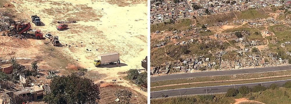 Depois de um acordo que permitiu reintegração de posse, mais de 400 famílias que viviam nas ocupações William Rosa e Marião, em Contagem, na Região Metropolitana de Belo Horizonte, deixaram os terrenos; a desocupação, que atinge cerca de 1.450 pessoas,começou em 1ª de julho; as famílias que estão em imóveis alugados, receberão um auxílio financeiro de R$ 450 pelo período de 1 ano e 6 meses, até a construção de unidades habitacionais; é o que prevê o termo firmado em 21 de junho