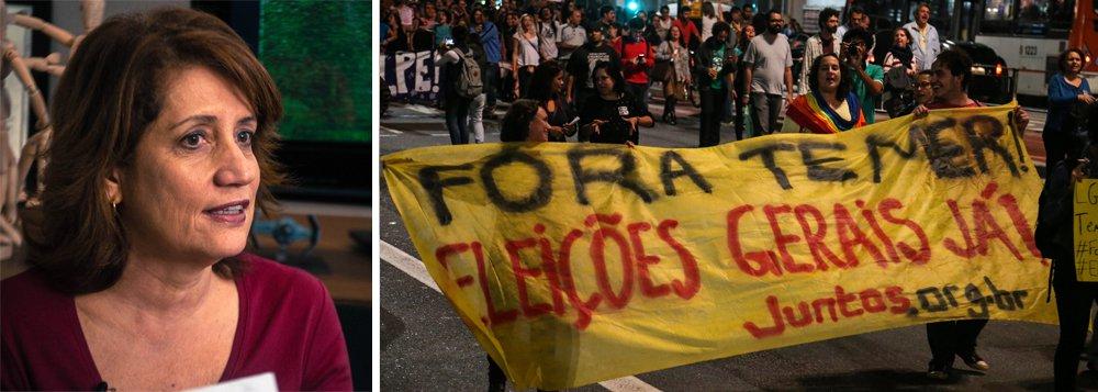 """""""O país está perdendo o melhor da democracia: a polifonia, os vários sons, várias vozes, a convivência entre opiniões contrárias, o debate que instiga e desafia a pensar sobre um determinado ponto, o esforço para ver a realidade pelo ângulo do outro, o diálogo"""", escreve a colunista; jornalista também pede diálogo, mas ele não virá com facilidade enquanto o Brasil não reconquistar a democracia soterrada com ajuda da Globo"""
