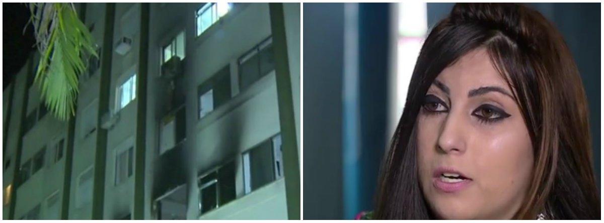 """Aos 23 anos, Barbara Penna começo vida nova depois de agredida, queimada e jogada do terceiro andar de um prédio em Porto Alegre pelo ex-namorado, em novembro de 2013; ela criou o Instituto Barbara Penna, para a luta contra a violência doméstica, com""""atendimento jurídico, psicológico e encaminhamentos em casos de agressões""""; sobre a terceira filha, Bárbara desabafa: """"ela me trouxe uma vida nova"""";no incêndio, morreram os dois filhos dela, que fez mais de 200 cirurgias, teve lesões na bacia e no fêmur; fogo atingiu 40% do lado direito do corpo; orelha derreteu e a retina do olho foi queimada, o que exige um transplante de córnea"""